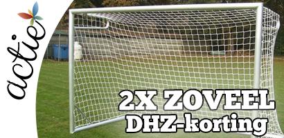Dubbele DHZ-korting bij dit Elite of Champion voetbaldoel