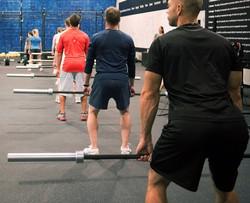 CrossFit deadlift