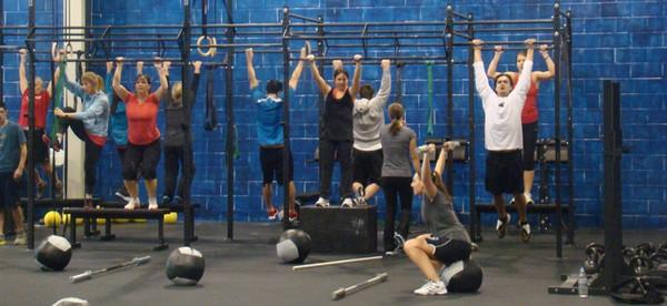 CrossFit optrekken
