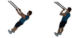 Crossfit oefening: Hoge bicepsoefening