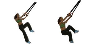 Crossfit oefening: Hurken met één been