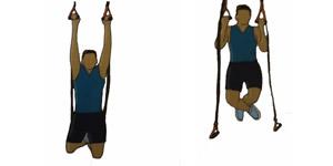Crossfit oefening: Roterende grip pull-ups