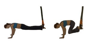 Crossfit oefening: Zwevende buikspieroefening
