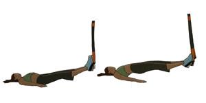Crossfit oefening: Zwevende rugbrug