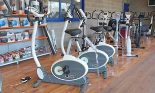 Scava Grobbendonk fitness showroom: Hometrainers van de merken Tunturi