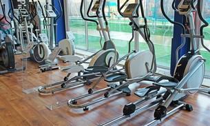 Scava Grobbendonk fitness showroom: Crosstrainers Front driven van de merken Kettler, Tunturi