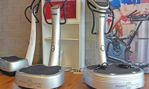 Scava Grobbendonk fitness showroom: Trilplaten van de merken Power Plate