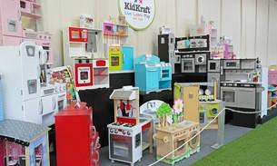 Scava Grobbendonk indoor showroom: Kinderkeukens van de merken Kidkraft