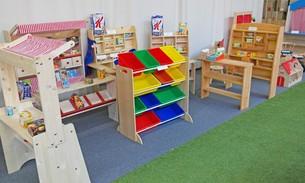 Scava Grobbendonk indoor showroom: Kinderwinkels van de merken Kidkraft, Pinolino, Step2, Van Dijk Toys, Howa