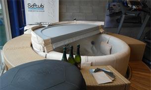 Scava Grobbendonk fitness showroom: Bubbelbaden van de merken Softub