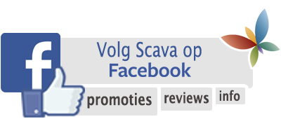 Volg Scava Fitness & Health op Facebook