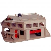 Garage 3 verdiepingen met roldeur