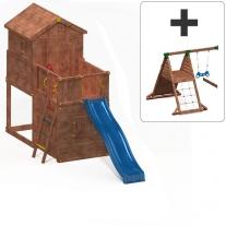 My House + Hide & Play Module + Spider+ Module