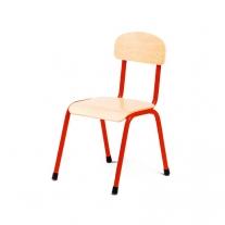 Stalen rode stoel 30