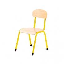 Stalen gele stoel 30