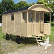 Zigeunerwagen 500cm met veranda