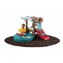Dockside sandbox & climber