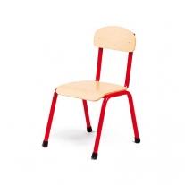 Stalen rode stoel 26