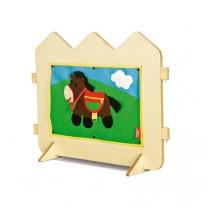 Scheidingswand - Het paardje