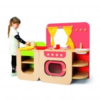 Moderne speelkeuken