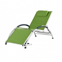 Dockside Sun Lounger - Aluminium