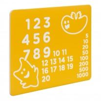 Speelpaneel 'Nummers'