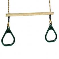 Trapeze met kunststof ringen