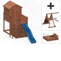 My House + Beach Module + Spider+ Module + Hide & Play Module