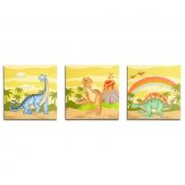 Muurkunst - Dinosaurus