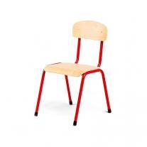 Stalen rode stoel 34