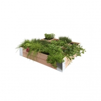 Douglas Minigarden Vierkante Meter