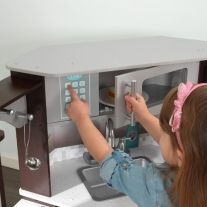 KidKraft Ultimate speelkeukentje (hoekmodel) met licht en geluid