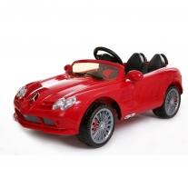 Mercedes Cabrio Red