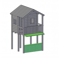 Winkeltje [Belle] met dak